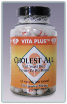 Vita Plus Cholestall 600mg 120 Capsules