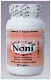 Vita Plus 100% Pure Tropical Noni 60 Capsules