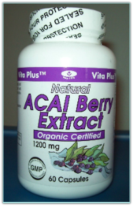 Vita Plus Acai Berry Extract 1200 mg 60 caps