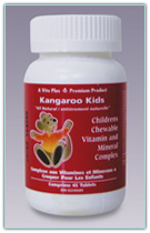 Vita Plus Kangaroo Kids Multi-Vitamins 45 Tablets